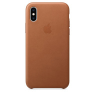 Apple iPhone XS Leather Case - cena, porovnanie