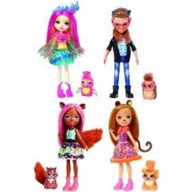 Mattel  Enchantimals bábika a zvieratko