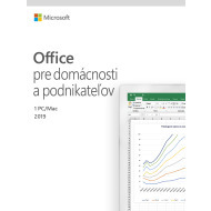Microsoft Office 2019 Home and Business SK Medialess