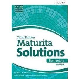 Maturita Solutions 3rd Edition Elementary - Workbook (SK Edition)