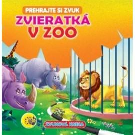 Zvieratká v ZOO - Zvuková kniha