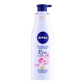 Nivea  Rose & Argan Oil telové mlieko s olejom  200ml