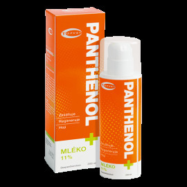 Topvet  Panthenol + upokojujúce telové mlieko  200ml