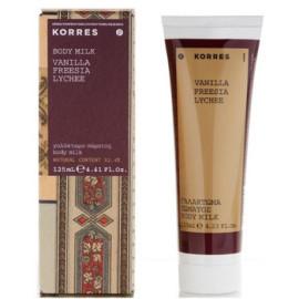 Korres  Vanilla, Freesia & Lychee telové mlieko pre ženy  125ml