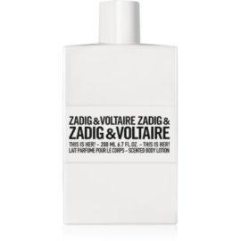 Zadig & Voltaire  This Is Her! telové mlieko pre ženy  200ml