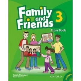 Family and Friends 3 - Class Book