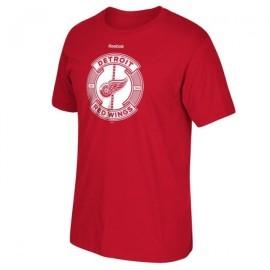 Reebok  Detroit Red Wings Slick Pass Tee