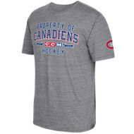 CCM  Montreal Canadiens Property Block Tri-Blend