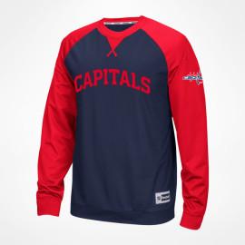 Reebok  Washington Capitals Longsleeve Novelty Crew 2016