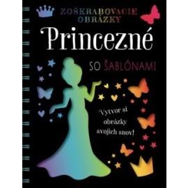 Zoškrabovacie obrázky – Princezné