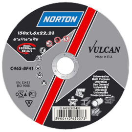 Norton Vulcan A 115x6.4x22