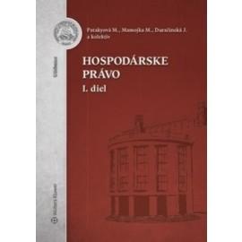 Hospodárske právo - 1.diel