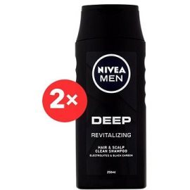 Nivea  Men Deep Revitalizing Shampoo  2x250ml