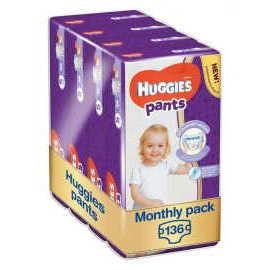 Huggies Pants Jumbo 5 136ks