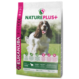 Eukanuba Nature Plus+ Adult Medium Breed Frozen Lamb 10kg