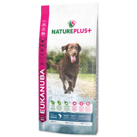 Eukanuba Nature Plus+ Adult Large Breed Frozen Salmon 10kg