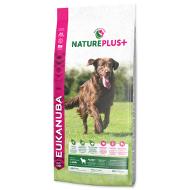 Eukanuba Nature Plus+ Adult Large Breed Frozen Lamb 10kg