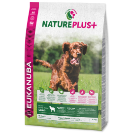 Eukanuba Nature Plus+ Puppy Junior Frozen Lamb 2.3kg