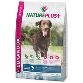 Eukanuba Nature Plus+ Adult Large Breed Frozen Salmon 2.3kg