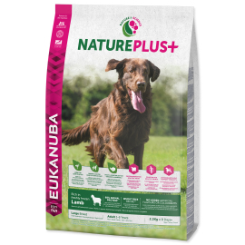 Eukanuba Nature Plus+ Adult Large Breed Frozen Lamb 2.3kg