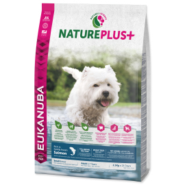 Eukanuba Nature Plus+ Adult Small Breed Frozen Salmon 2.3kg
