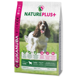 Eukanuba Nature Plus+ Adult Medium Breed Frozen Lamb 2.3kg