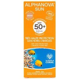 Alphanova  Sun BIO Opaľovací tónovací krém svetlý SPF50+  50g