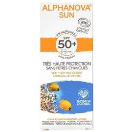 Alphanova  Sun BIO Opaľovací krém na tvár SPF50+  50g