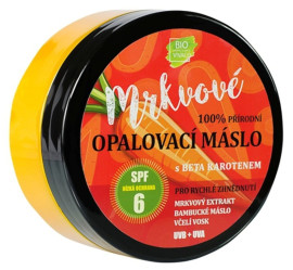 Vivaco Mrkvové opaľovacie maslo s betakaroténom SPF6 150ml