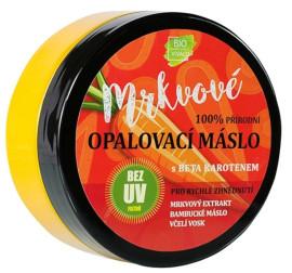 Vivaco Mrkvové opaľovacie maslo bez UV filtrov s betakaroténom 150ml