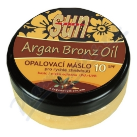 Vivaco Opaľovacie maslo s arganovým olejom SPF10 200ml