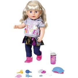 Zapf Creation  Staršia sestrička Baby born Soft Touch blondínka