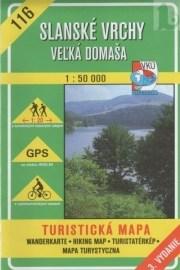 Slanské vrchy - Veľká Domaša - turistická mapa č. 116
