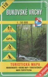 Bukovské vrchy - turistická mapa č. 118