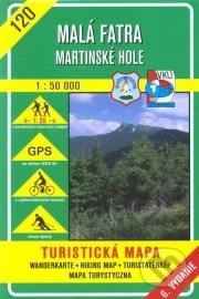Malá Fatra - Martinské hole - turistická mapa č. 120