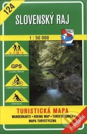 Slovenský raj - turistická mapa č. 124