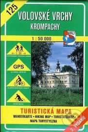 Volovské vrchy - Krompachy - turistická mapa č. 125