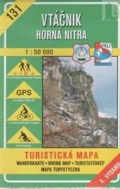 Vtáčnik - Horná Nitra - turistická mapa č. 131