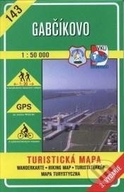 Gabčíkovo 1:50 000 - turistická mapa č. 143