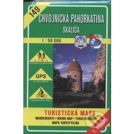 Chvojnická pahorkatina - Skalica - turistická mapa č. 149