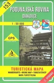 Podunajská rovina - Diakovce - turistická mapa č. 153