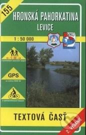 Hronská pahorkatina - Levice - turistická mapa č. 155