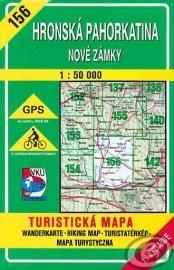 Hronská pahorkatina - Nové Zámky - turistická mapa č. 156