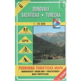 Donovaly, Šachtička - Turecká - turistická mapa č. 6
