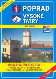 Poprad - Vysoké Tatry 1:10 000