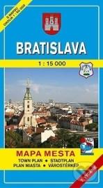 Bratislava 1:15 000 (mäkká obálka)