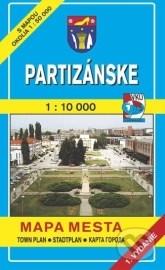 Partizánske 1:10 000