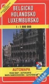 Belgicko, Holandsko, Luxembursko 1:1 000 000