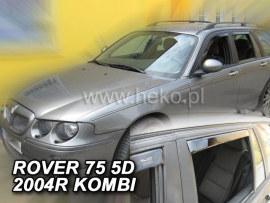 Heko  Deflektory na Rover 75 combi, 4-dverová (+zadné), r.v.: 1999 -