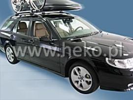 Heko  Deflektory na Saab 9-3 combi, 5-dverová (+zadné), r.v.: 2005 - 2012